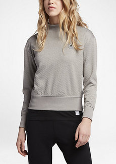 Converse Shield Mock Neck Crew