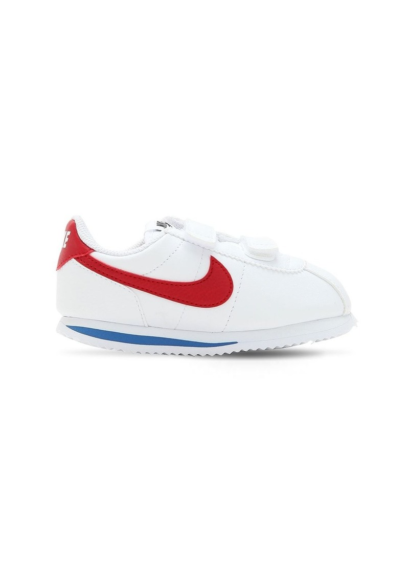 promo code 396ce 4ce41 Nike Cortez Basic Faux Leather Strap Sneakers