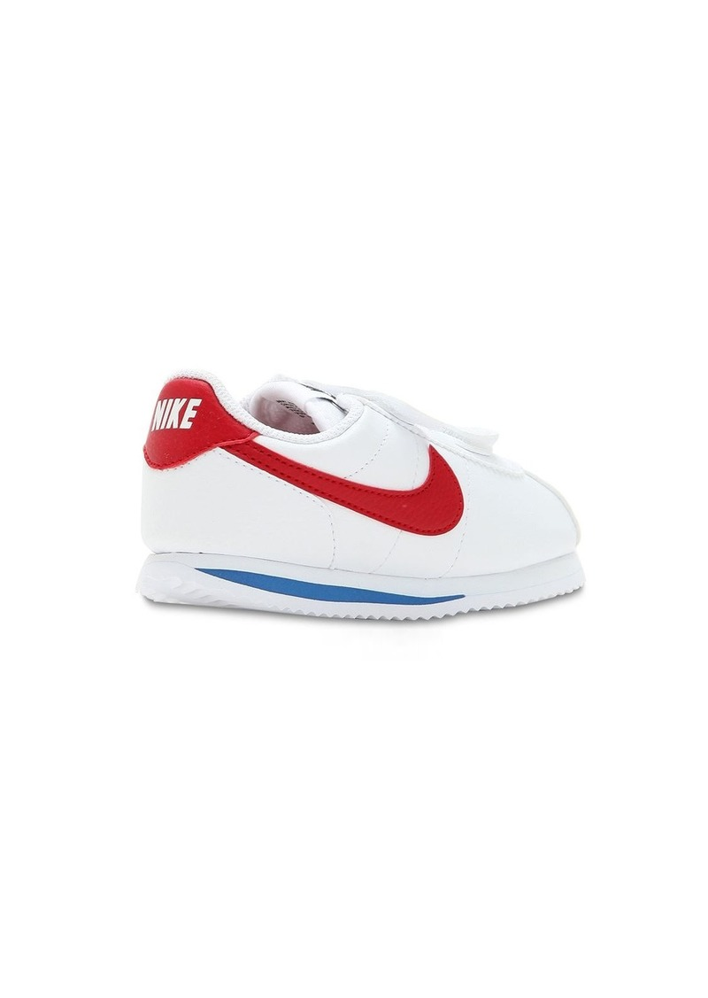 new collection low cost fresh styles Nike Cortez Basic Faux Leather Strap Sneakers | Shoes