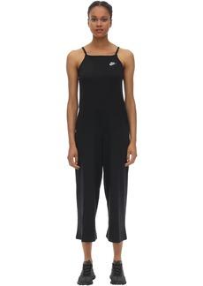 Nike Cotton Blend Jersey Jumpsuit