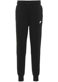 Nike Cotton-blend trackpants
