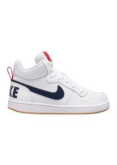 Nike Court Borough Mid High Sneaker (Big Kid)