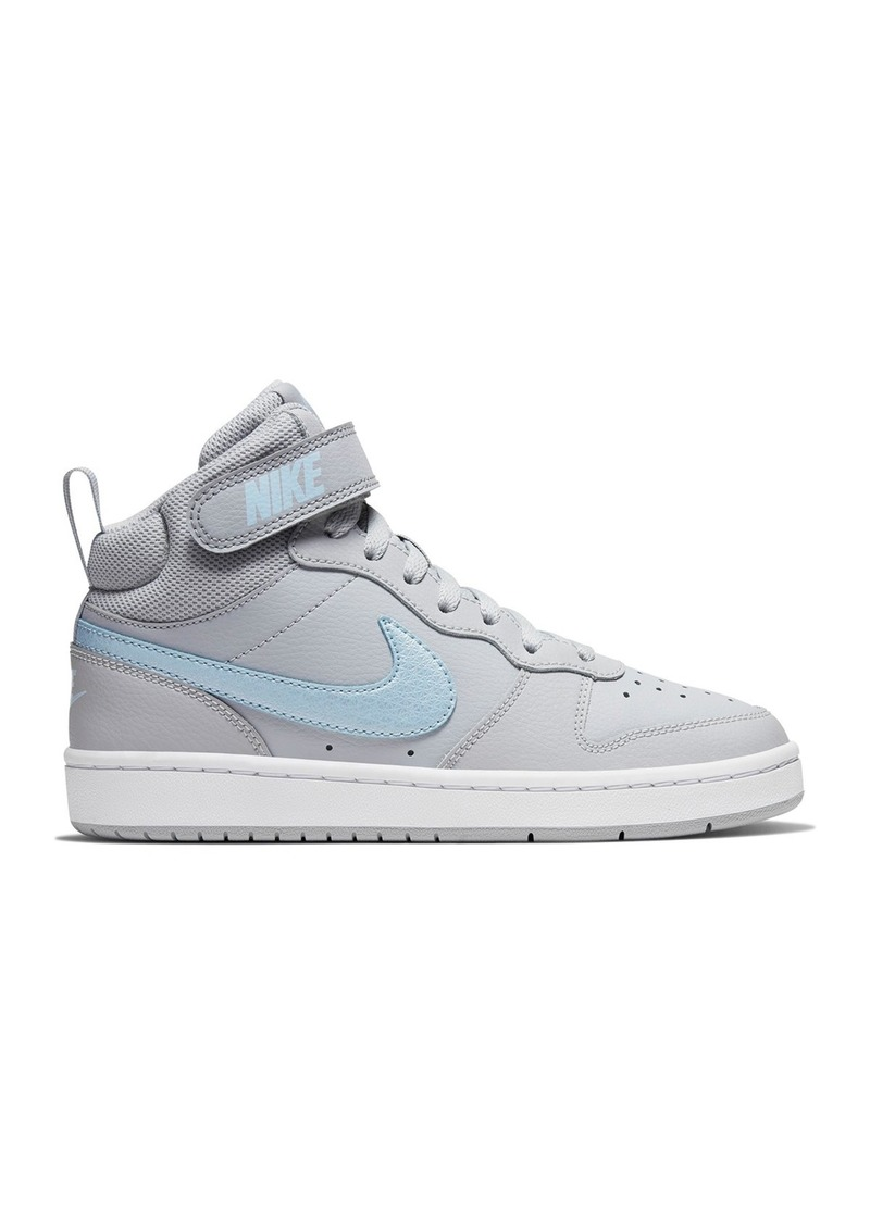 Nike Court Borough Mid Sneaker (Big Kid)