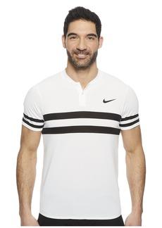 Nike Court Dry Advantage Stripe Tennis Polo