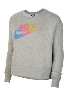 Nike Crew Neck Long Sleeve Knit Sweater (Plus Size)