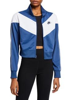 Nike Cropped Chevron Track Jacket
