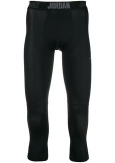 Nike cropped elasticated leggings
