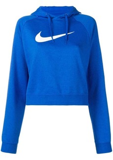 Nike cropped hooded sweatshirt