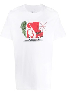 Nike Delivery Truck print T-shirt