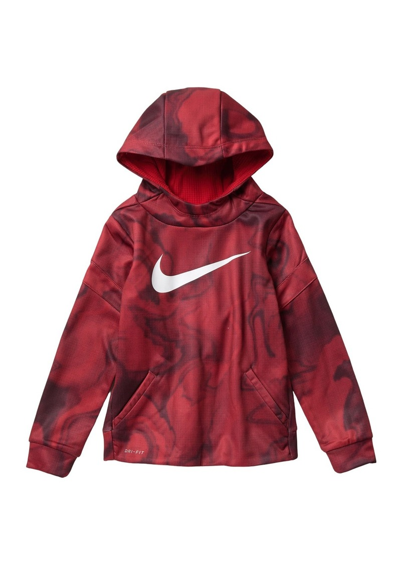 Nike Dominate Allover Print Hoodie (Little Boys)