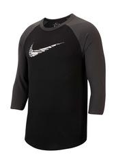 Nike Dri-FIT 3/4 Raglan Sleeve Training T-Shirt