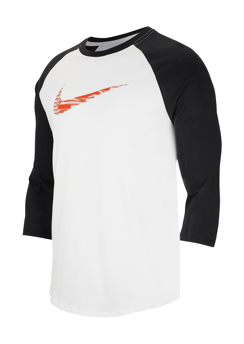 Nike Dri-FIT 3/4 Raglan Sleeve Training T-Shirt