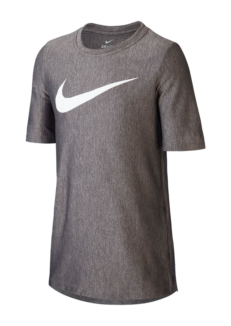 Nike Dri-FIT Crew Neck T-Shirt (Big Boys)
