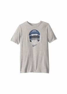 Nike Dri-Fit Football Helmet T-Shirt (Little Kids/Big Kids)
