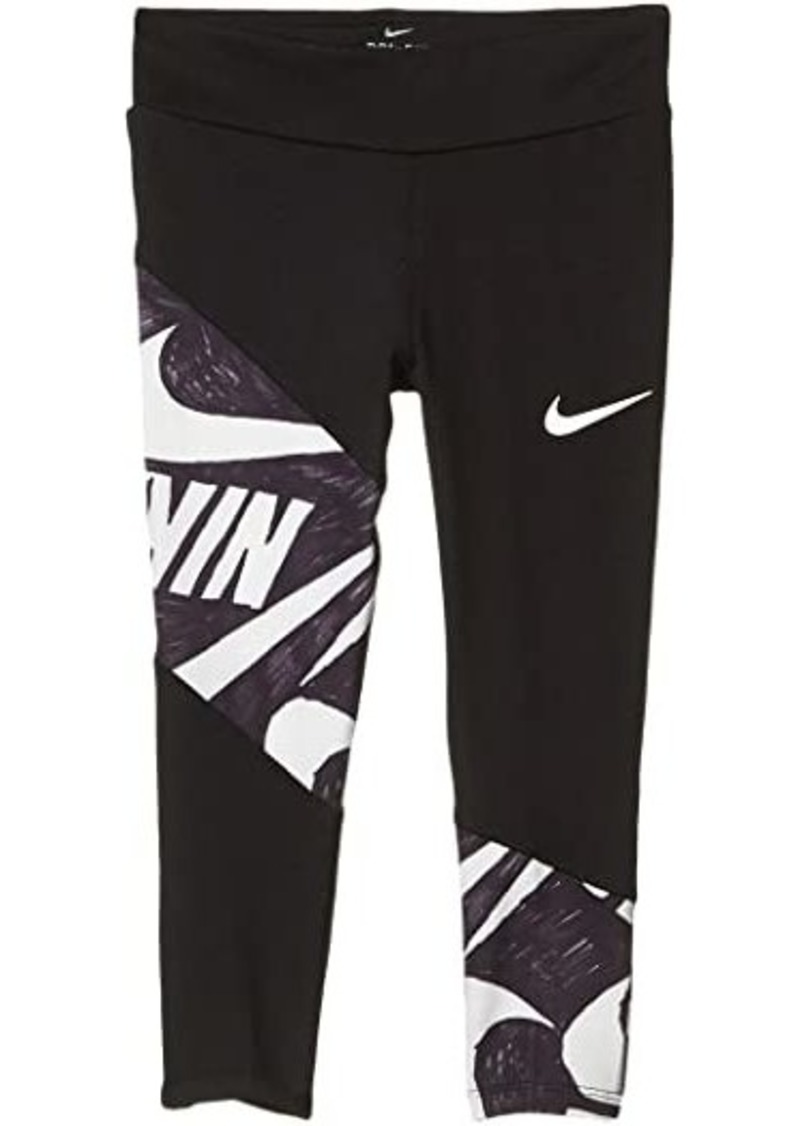 Nike Dri-FIT™ Graphic Panel Leggings (Little Kids)