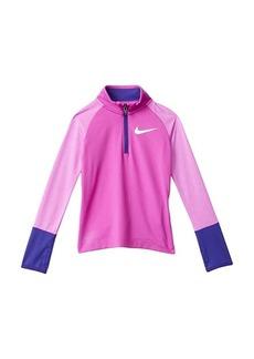 Nike Dri-FIT Long Sleeve 1/2 Zip Top (Little Kids)