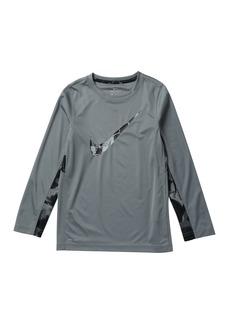 Nike Dri-Fit Long Sleeve GFX2 Legacy Tee (Big Boys)
