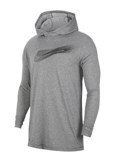 Nike Dri-FIT Long Sleeve Hooded Training T-Shirt