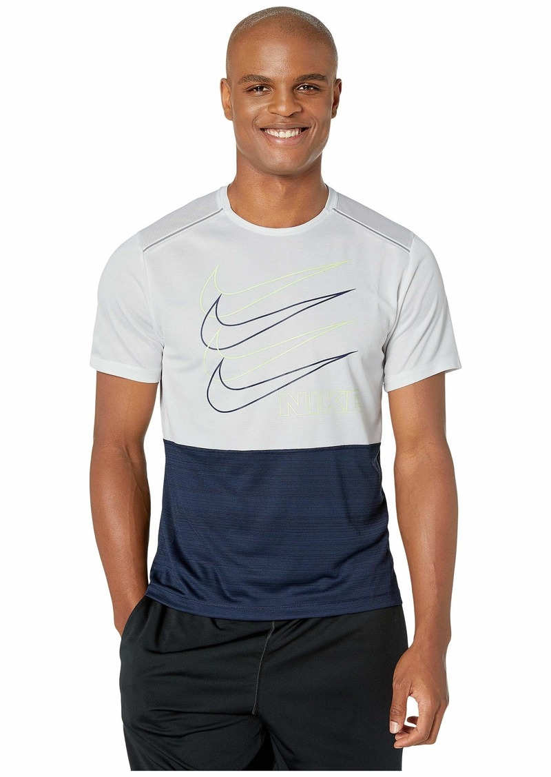 Nike Dri-FIT™ Miler Short Sleeve High Brand Read 2