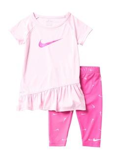 Nike DRI-Fit Sport Tunic & Capri Set (Toddler Girls)