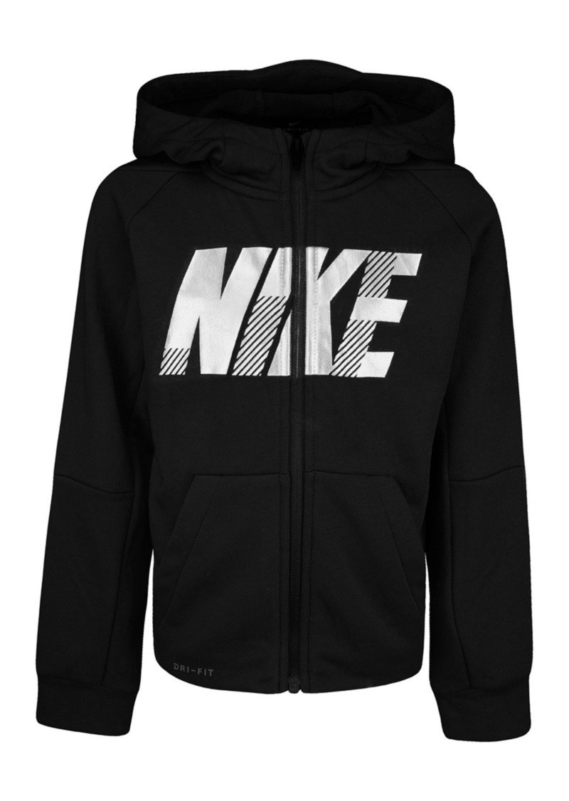 Nike Dri-FIT Zip-Up Hoodie (Little Boys)
