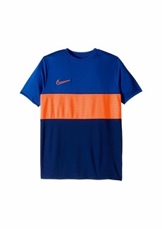 Nike Dry Academy Short Sleeve Graphic Soccer Top (Little Kids/Big Kids)
