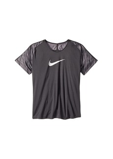 Nike Dry Academy Short Sleeve Soccer Top (Little Kids/Big Kids)