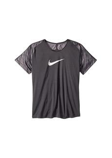 Nike Dry Academy Short Sleeve Soccer Top (Little Kids/Big Kids)