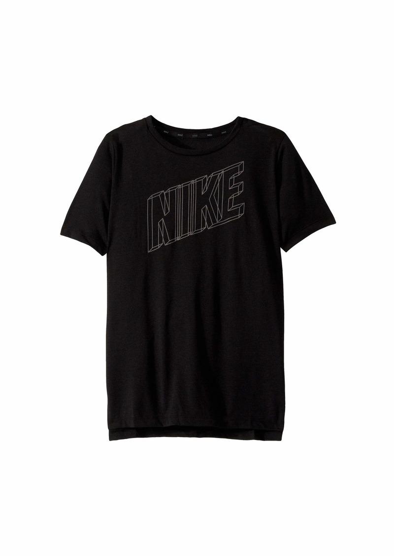 Nike Dry Breathe Short Sleeve T-Shirt (Big Kids)