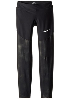 Nike Dry Core Texture Training Tights  (Little Kids/Big Kids)