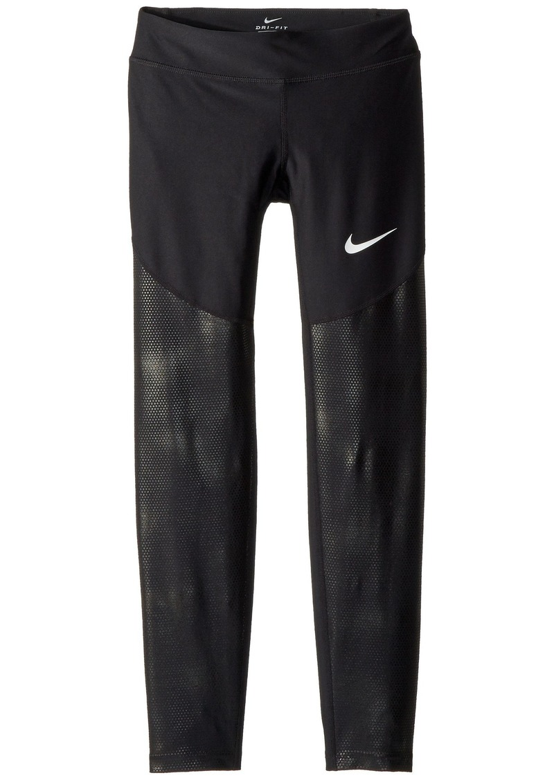 Nike Dry Core Texture Training Tights  (Little Kids/Big Kids)