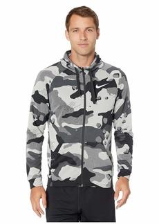 Nike Dry Fleece Hoodie Full Zip Camo Graphics