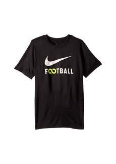 Nike Dry Football T-Shirt (Little Kids/Big Kids)