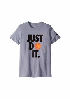Nike Dry Just Do It Basketball T-Shirt (Little Kids/Big Kids)