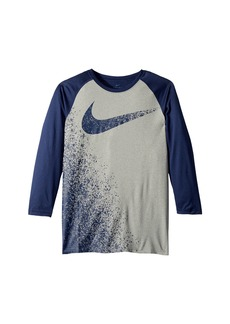 Nike Dry Legend 3/4 Sleeve Training T-Shirt (Little Kids/Big Kids)