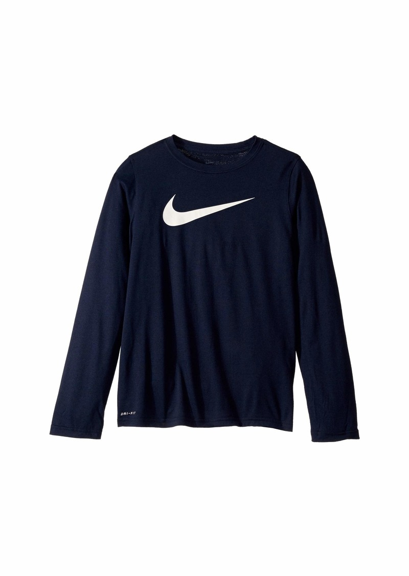 Nike Dry Legend Long Sleeve Training T-Shirt (Big Kids)