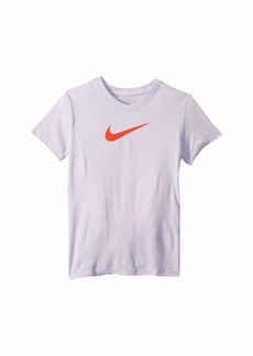 Nike Dry Legend Swoosh V-Neck Tee (Little Kids/Big Kids)