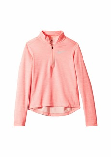 Nike Dry Long Sleeve 1/2 Zip Top (Little Kids/Big Kids)