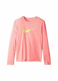 Nike Dry Long Sleeve Swoosh Tee (Little Kids/Big Kids)