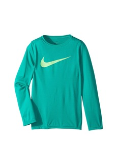 Nike Dry Long Sleeve Training T-Shirt (Little Kids/Big Kids)