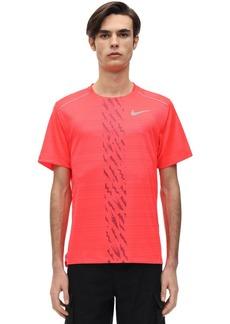 Nike Dry Miler Reflective Running T-shirt