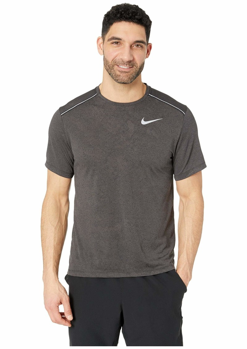 Nike Dry Miler Top Short Sleeve Jacquard Graphics