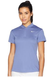Nike Dry Polo Short Sleeve Blade Left Chest