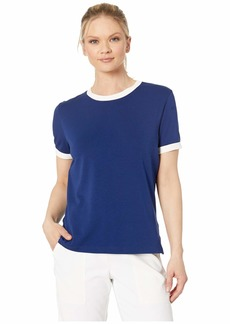 Nike Dry Short Sleeve Ringer Top