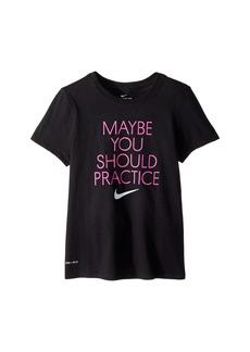 Nike Dry Should Practice Training T-Shirt (Little Kids/Big Kids)