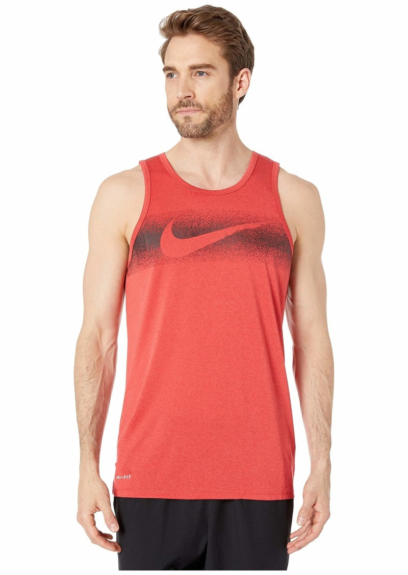Nike Dry Tank Leg Chalk Swoosh