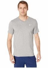 Nike Dry Tee Dri-FIT Cotton V Solid