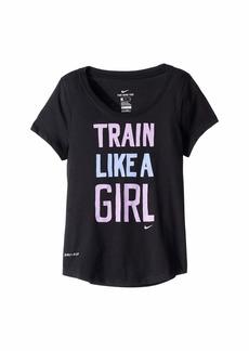 Nike Dry Train Like A Girl T-Shirt (Little Kids/Big Kids)