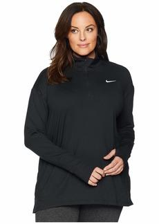 Nike Element 1/2 Zip Top (Sizes 1X-3X)