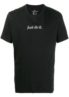 Nike embroidered 'Just Do It' T-shirt